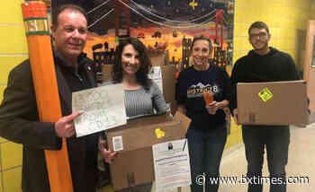 Councilman Gjonaj donates 13,000 pencil to 'One Million Pencils' initiative