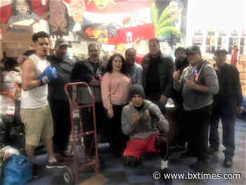 Bronx Center delivers supplies to El Maestro Boxing Club for PR earthquake victims