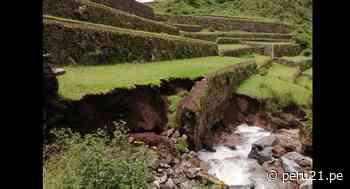 Cusco: Colapsa andenería inca de parque arqueológico de Pisac por intensas lluvias - Diario Perú21