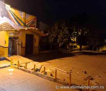 Hacen explotar cajero automático en el municipio de Morroa - El Universal - Colombia