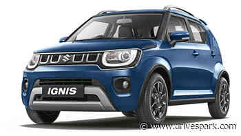 New Maruti Ignis BS6 Facelift Launched In India At Rs 4.83 Lakh: Prices Hiked By Up To Rs 25,000 - DriveSpark