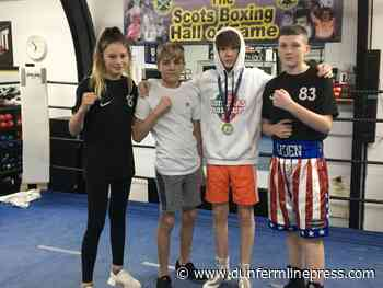 Valleyfield boxers are as proud as punch! - Dunfermline Press