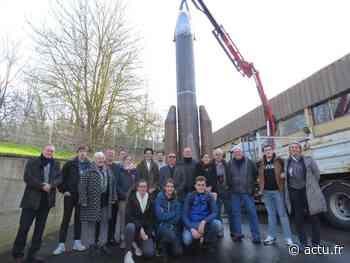 La fusée construite par les lycéens des Andelys atterrira à Vernon, dans l'Eure - Normandie Actu