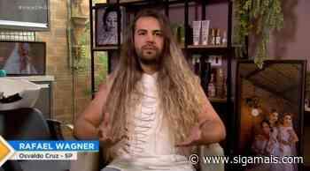 Cabeleireiro de Osvaldo Cruz participa de reality na Record TV - Siga Mais