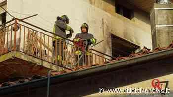 VALPERGA - Incendio in alloggio (FOTO E VIDEO) - ObiettivoNews