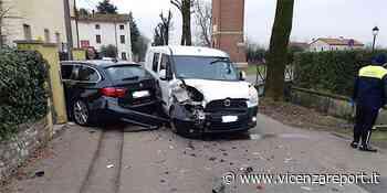 Sandrigo, si scontrano due auto. Due feriti - Vicenzareport