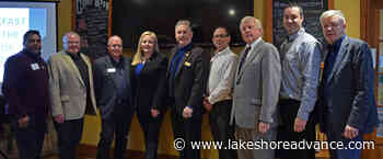 """Weber looks back on """"another great year"""" for Lambton Shores at breakfast - Lakeshore Advance"""