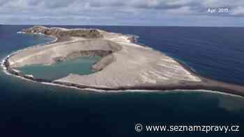 Vědci z NASA navštívili nejmladší ostrov. Našli záhadné bahno - SeznamZprávy.cz