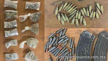 Asegura FGR arma de fuego, cartuchos útiles, cargadores y droga en Sonoyta - Proyecto Puente