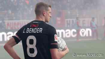 Bayer Leverkusens Lars Bender: Keine Phantasien nach hartem Arbeitstag - kicker - kicker