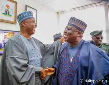 Lawan, Saraki meet in Uyo - Daily Post Nigeria