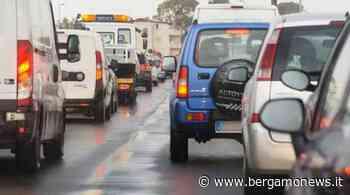 Tamponamento a Torre Boldone: traffico difficoltoso per la Valle Seriana - Bergamo News - BergamoNews.it