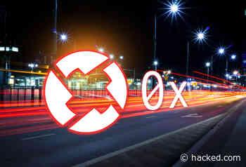 Mass Adoption Meta Trickery: 0x (ZRX) Up 13% Ahead of V3.0 Upgrade | Hacked: Hacking Finance - Hacked