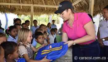 Gestión social lidera campaña en colegios de Magangué - Caracol Radio