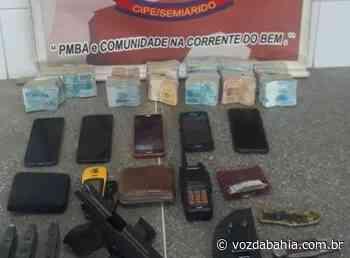 Canarana: PM apreende R$ 101 mil em espécie e meio milhão em cigarros ilegais - Voz da Bahia