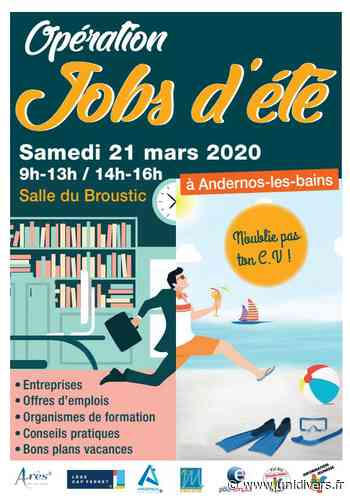Jobs d'été 21 mars 2020 - Unidivers