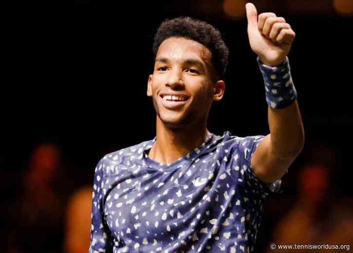 Felix Auger-Aliassime draws positives from his runner-up finish in Rotterdam