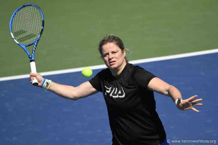 Kim Clijsters: Will Be Difficult to Beat Muguruza But Am Ready for the Challenge