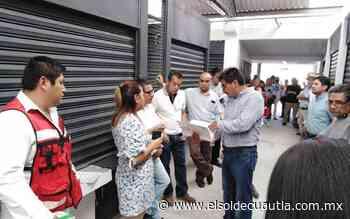 Entregan mercado de Anenecuilco a comerciantes - El Sol de Cuautla