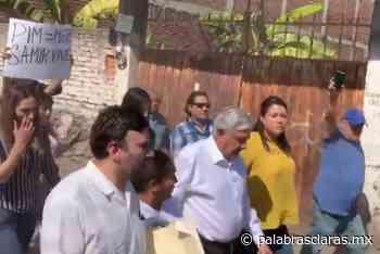 """""""¡Obrador, mentiroso y hablador!"""", gritan al presidente en Anenecuilco, Morelos (Video) - PalabrasClaras.mx"""