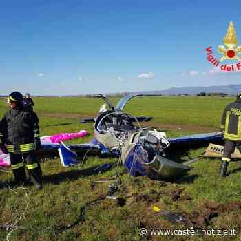 Coniugi di Velletri precipitano con un aereo ultraleggero tra Aprilia e Cisterna: salvi per...miracolo - Castelli Notizie