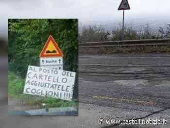 Velletri - Via dei Laghi in condizioni indecenti: buche e crateri lungo la strada (VIDEO) - Castelli Notizie
