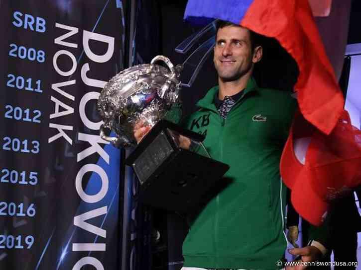 World No. 1 Novak Djokovic Gets UAE 10 Year Gold Card visa