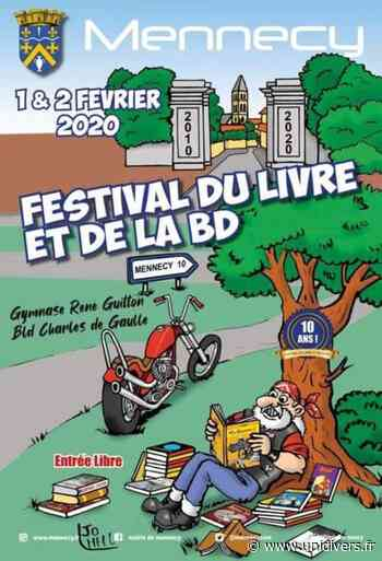 Salon du livre de Mennecy 2020 Gymnase René guitton 1 février 2020 - Unidivers
