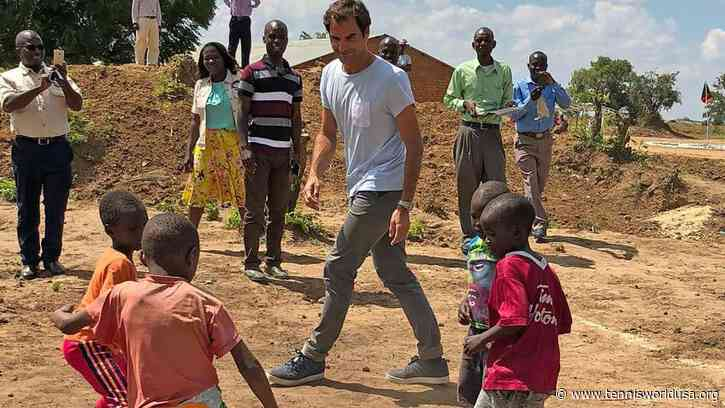 "Roger Federer: ""You can't miss a safari in Africa, it's unique"""