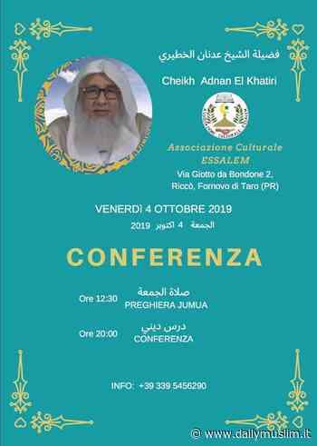Fornovo di Taro, conferenza con Adnan El Khatiri - Daily Muslim - DailyMuslim.it