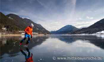 Spannende Eiszeit am Weissensee - Mittelbayerische