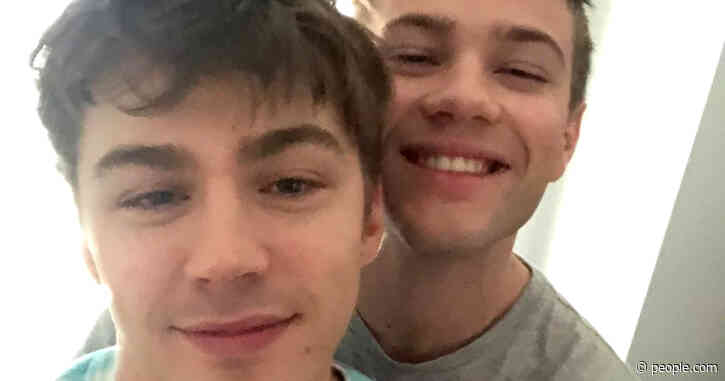 Connor Jessup Shares Selfie with 13 Reasons Why's Miles Heizer for Valentine's Day: 'I Love You'