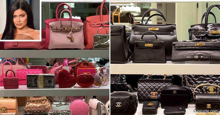 Kylie Jenner Shows Off Her Huge Handbag Closet Featuring Over20 Hermès Purses