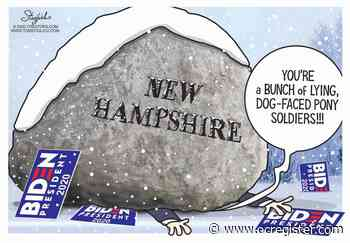 Biden between a rock and a hard place: Political Cartoons