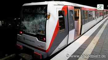 Hamburg: Schock für 600 Fahrgäste: Baum fällt auf die U-Bahn