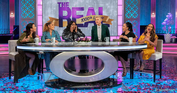The Real Co-Hosts Celebrate Their 1000th Episode with a Surprise Appearance from Ellen DeGeneres