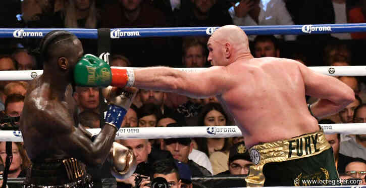 Deontay Wilder-Tyson Fury heavyweight title bout headlines TV lineup