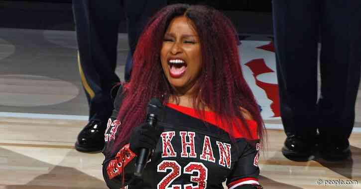 Chaka Khan Gives Memorable National Anthem Performance at NBA All-Star Game