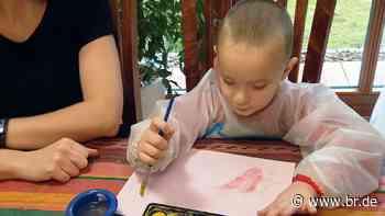 Stockstadt am Main: Der vierjährige Maks meistert sein Leben - BR24