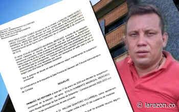 Alcalde de San Andrés de Sotavento seguirá suspendido, Tribunal no revocó medida - LA RAZÓN.CO