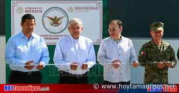 AMLO inaugura cuartel de Guardia Nacional en Penjamo - Hoy Tamaulipas