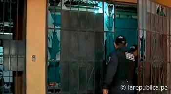 Extorsionadores hacen estallar explosivo en institución educativa de Paiján - LaRepública.pe