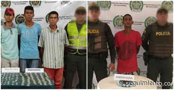 Cuatro capturados por estupefacientes dejan operativos en El Banco y Zona Bananera - Seguimiento.co