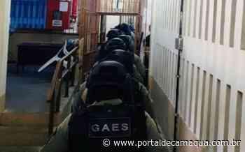 Galeria da Penitenciária de Arroio dos Ratos passa por operação de revista - Portal de Camaquã