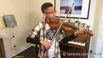 Meet the 13-year-old violinist from Ontario who will perform at Carnegie Hall
