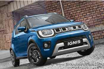 BS6 Maruti Suzuki Ignis launched: Variant wise prices out - The Financial Express