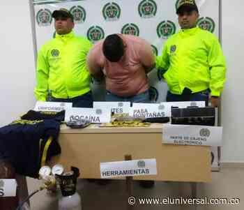 Atrapan a uno de los presuntos ladrones del cajero automático de Morroa - El Universal - Colombia