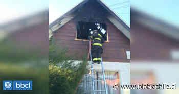 Incendio destruye dependencias de centro del Senda en Valdivia: una vivienda quedó con daños - BioBioChile