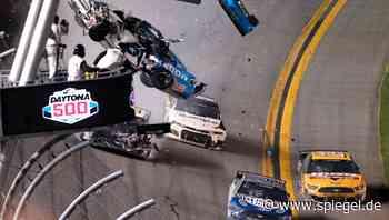 Motorsport: Schwerer Unfall überschattet Nascar-Rennen