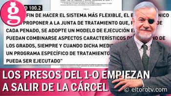 Los presos del procés, en semilibertad - El Toro TV